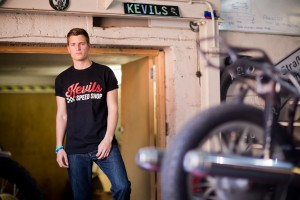 Black Kevils Speed Shop T Shirt