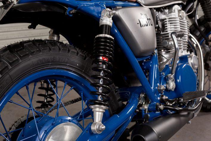Yamaha SR 400 Scrambler Tracker Custom Motorcycle Bespoke Bike