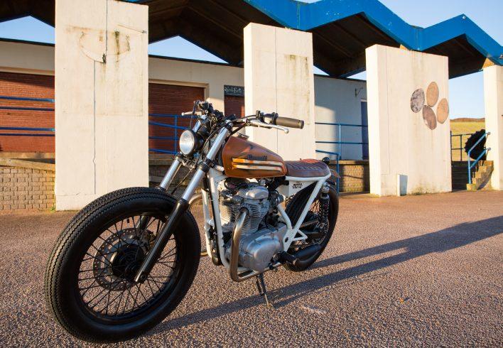 Kawasaki w650 Brat Style Custom Bobber