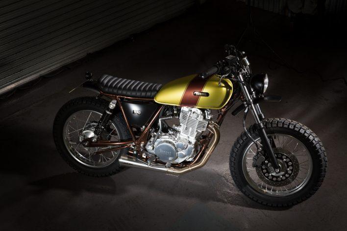 Custom Cafe Racer Sr400 Yamaha