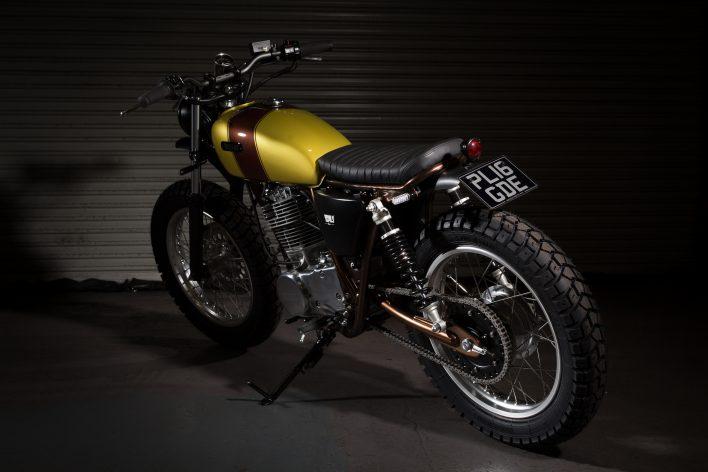 Yamaha sr Custom Cafe Racers Scrambler