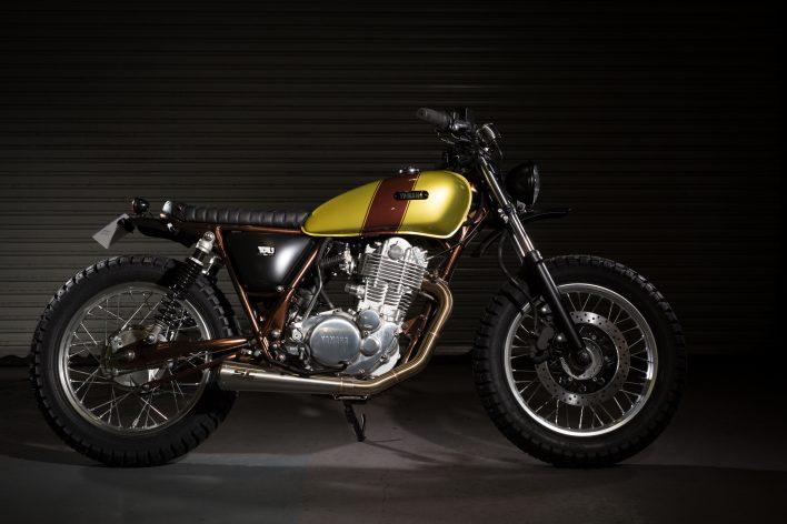 Yamaha sr400 Custom Cafe Racers Bespoke Scrambler