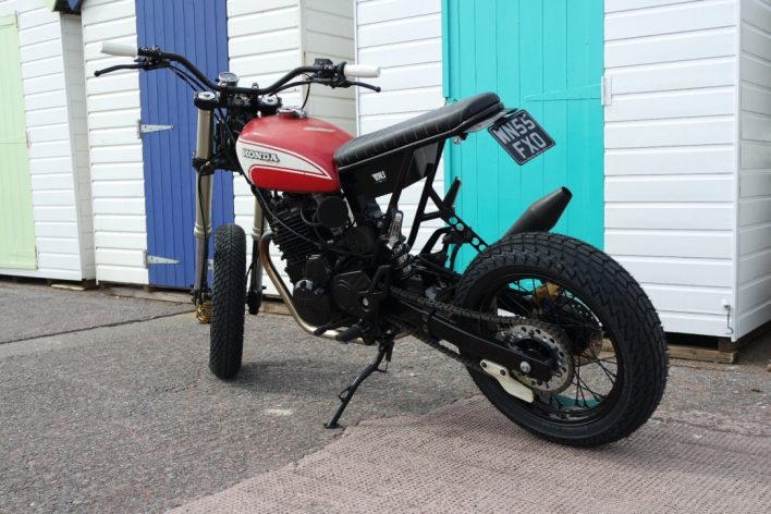 Honda FMX650 Blitz Motorcycle Style by Kevils