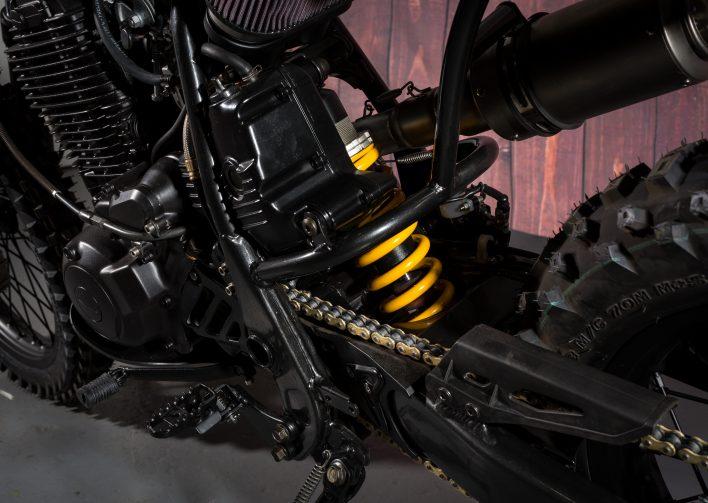 Yamaha tt600 Scrambler Custom