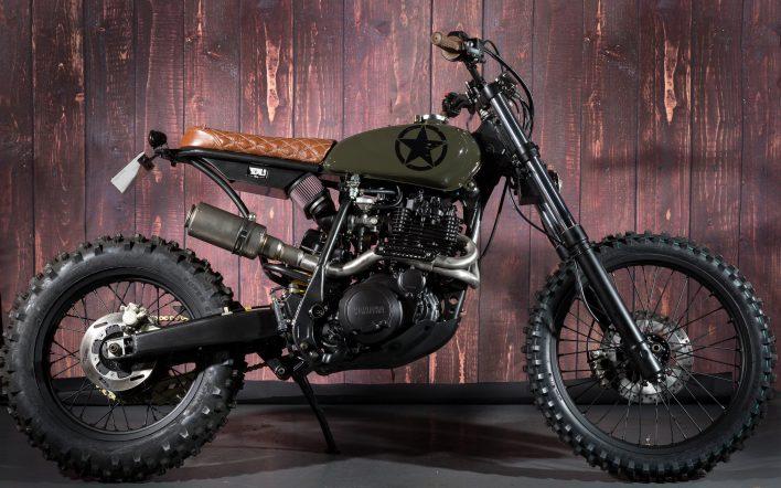 Yamaha tt600r Custom Scrambler