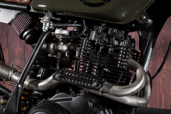 Yamaha TT600R Enduro Custom Scrambler