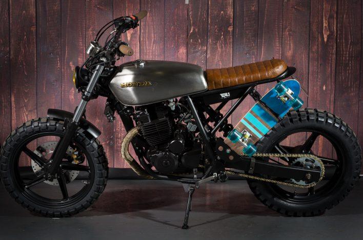 Honda CB250F Bespoke Street Scrambler