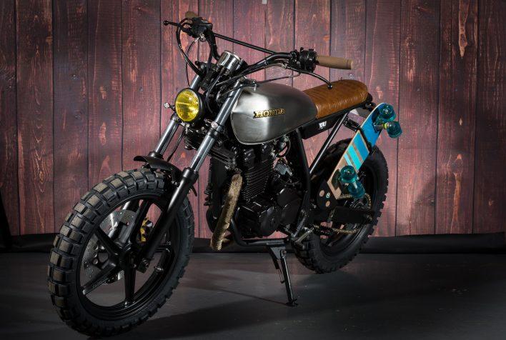 Custom Honda CB250 Scrambler