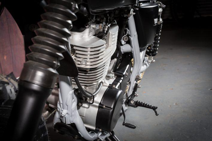 Yamaha Sr400 Custom Street Scrambler