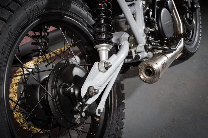 Yamaha Sr400 2014 Custom Street Scrambler